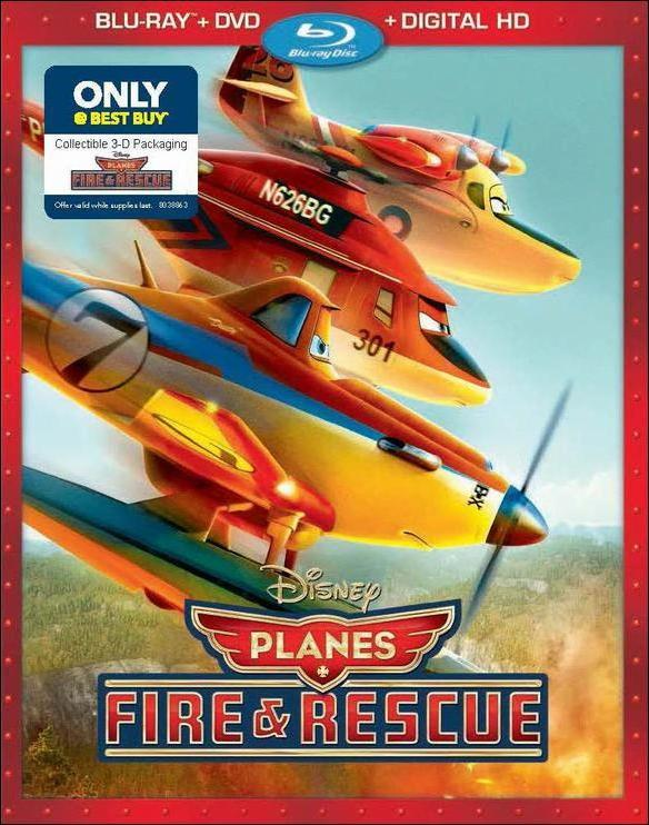 Planes Fire and Rescue (2014)